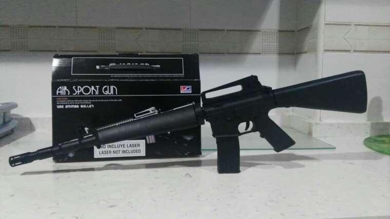 Unboxing / Examen du M16 Airsoft en espagnol