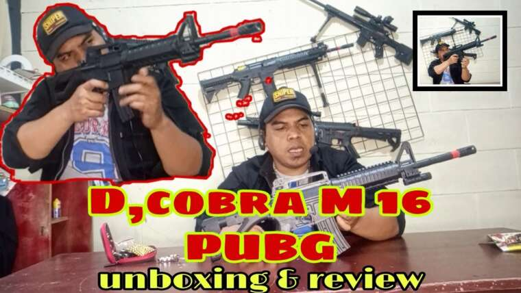 airsoft M 16 ORIGINAL MIRIP, HIS # unboxing # airsoft # review # replica # m16