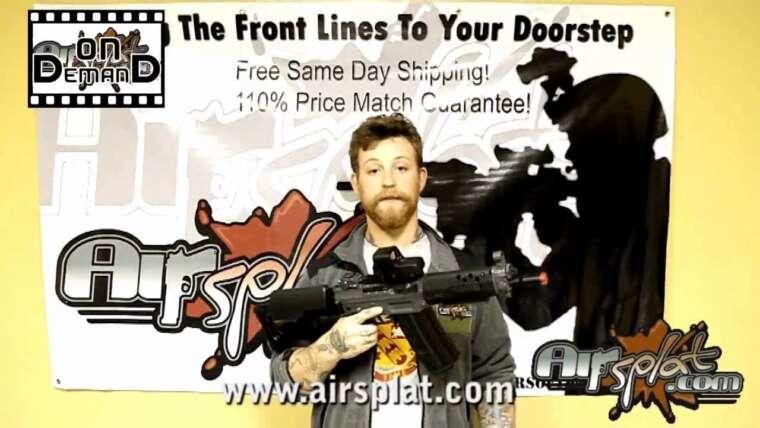 AirSplat OD – ICS SIG 551 et 552 Airsoft Gun Review Vidéo Ep 1