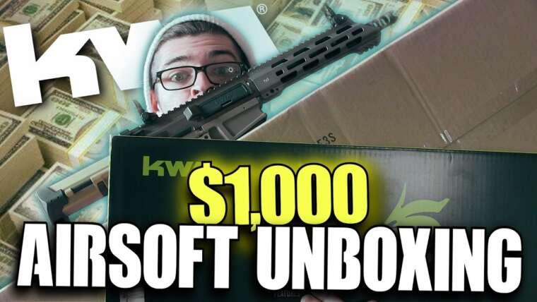 Unboxing Airsoft pas si gros de 1000 $!