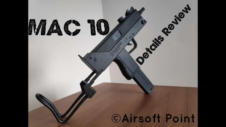 BF MAC 10 Détails Examen du Gel Blaster    Point Airsoft