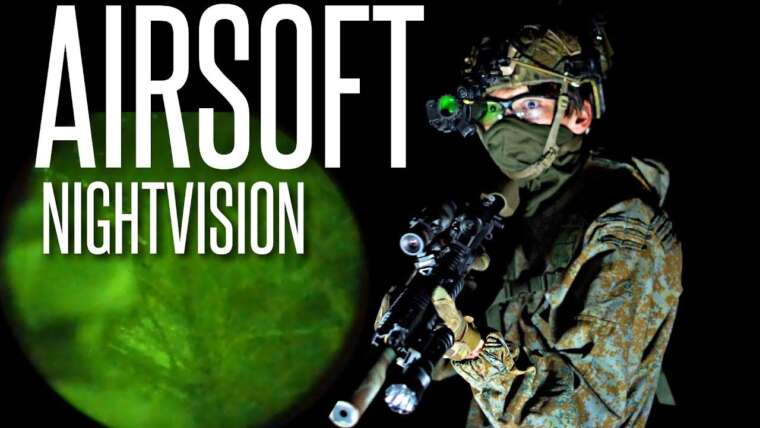 AIRSOFTERS EFFRAYANT AVEC DES LUNETTES DE VISION NOCTURNE – Airsoft Night Ops Ep.  3