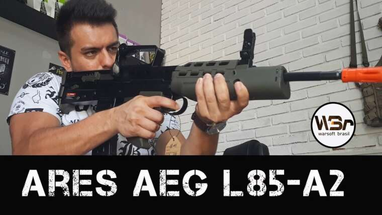 REVUE PT-BR / ARES AEG L85 – A2 – WARSOFT BRASIL