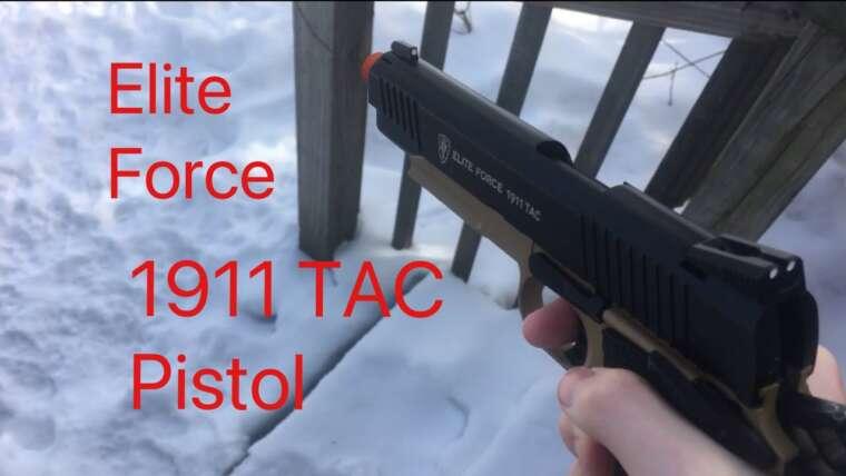 Pistolet Airsoft Blowback Elite Force 1911 |  Examen rapide
