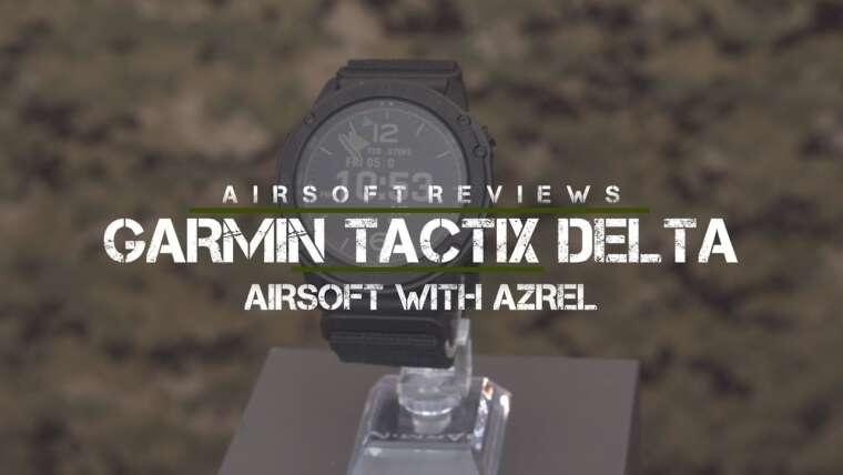 Procédure pas à pas de Garmin Tactix Delta – Airsoft avec Azrel