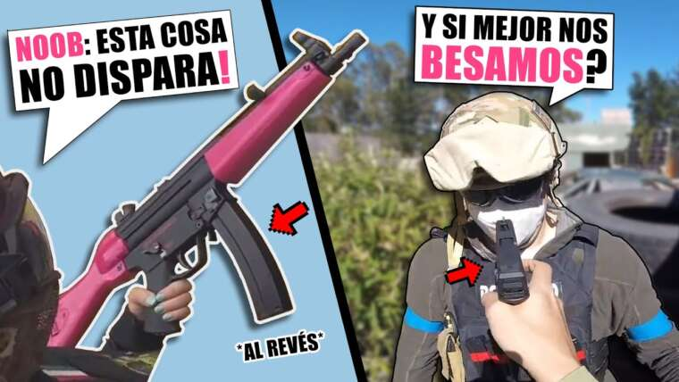 J'enseigne à NOVATA comment GET IT GOOD en MP5 😎 ▬ AIRSOFT FAILS # 8 🤣