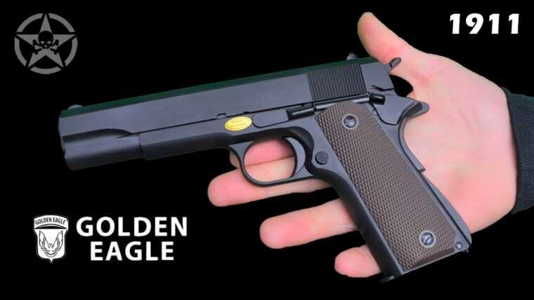 ¡¡Critique Pistola 1911 Golden Eagle FULL METAL !!