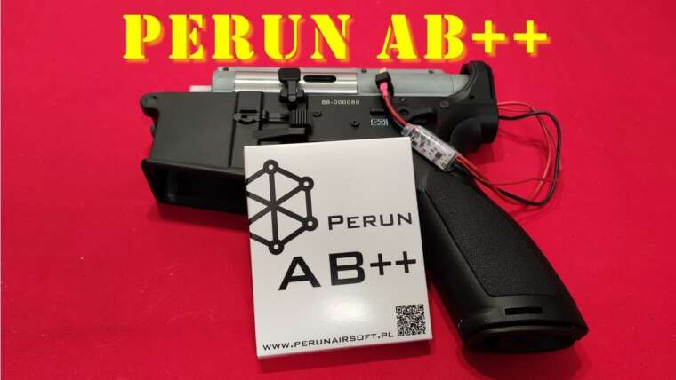 Airsoft – Perun AB ++ MOSFET [French]
