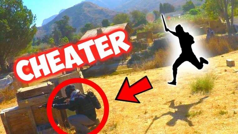 Ninja Warrior DESTROYS Airsoft CHEATER