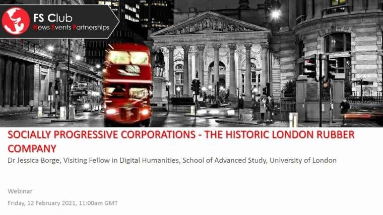 Sociétés socialement progressistes – The Historic London Rubber Company