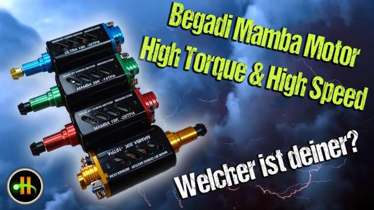 Begadi Chihai Mamba Motoren | 4K |  Révision et déballage |  Highlander Airsoft