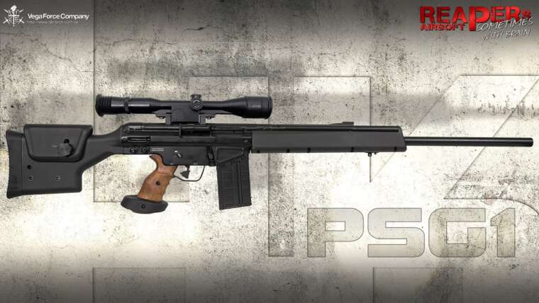 [Review] VFC HK PSG-1 GBB (Heckler & Koch, Umarex, PSG1 Gas Blowback) 6 mm Airsoft / Softair (allemand)