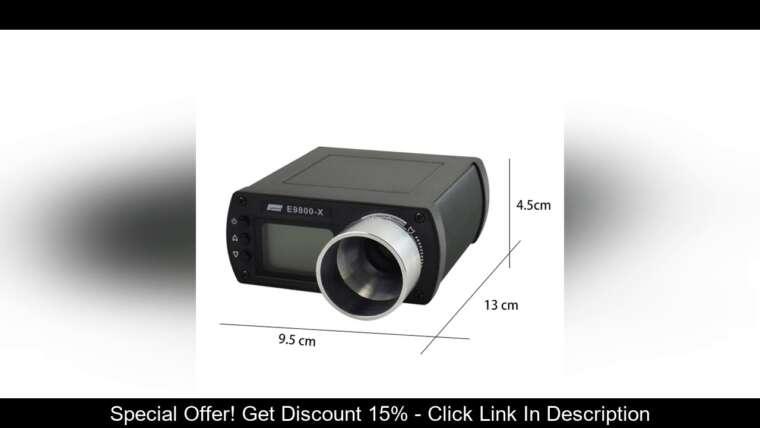 Évaluer E9800-X Shooting Chronograph Airsoft Tactical Air Gun BB Bullet Speed Tester High-Power Hunt