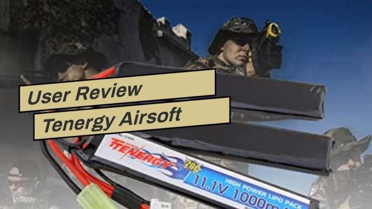 Avis utilisateur Tenergy Airsoft Battery 11.1V 1000mAh 20C High Discharge Rate LiPo Battery Pack …