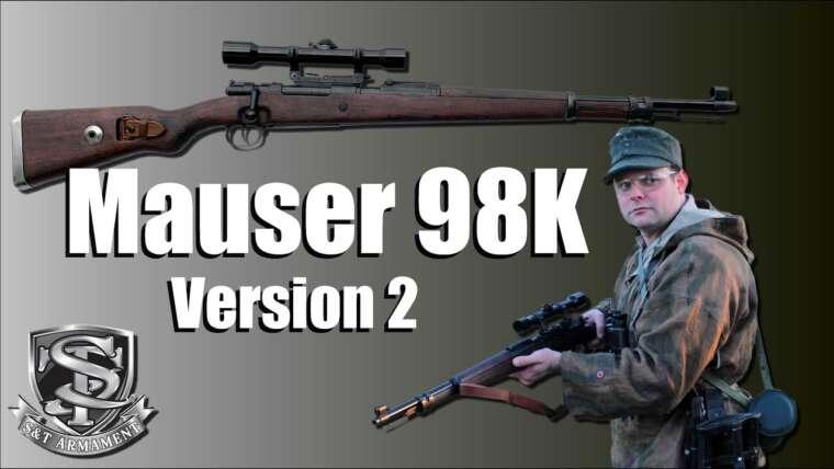 🔫 Mauser 98K Gen 2 – S&T – EXAMEN AIRSOFT