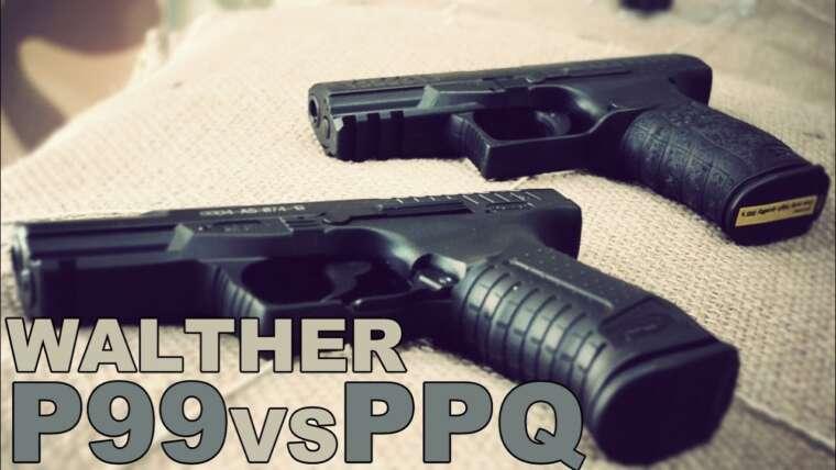 KWA Walther P99 contre PPQ    Critiques para principiantes    Capsule Corp. Airsoft España et FUNZONE