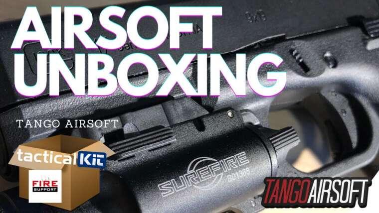 Airsoft Unboxing – Armes à feu, équipement et bien plus encore …