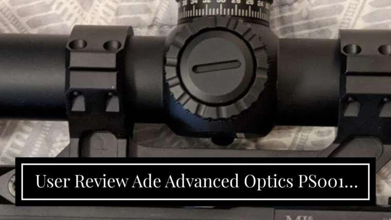 Avis d'utilisateur Ade Advanced Optics PS001C 30mm Offset Cantilever One Piece Rifle Scope Mount