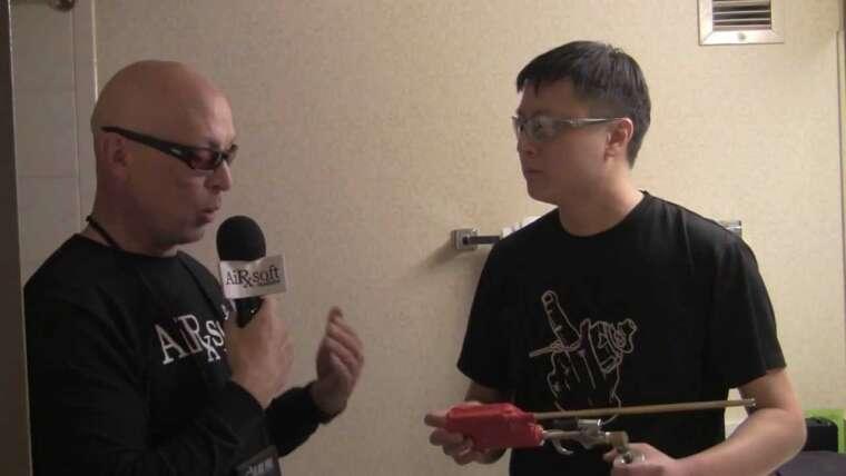 Preuve de concept du fusil de chasse Airsoft Innovations