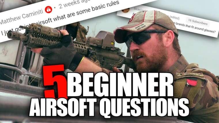 Répondre à 5 questions Airsoft pour débutants – Règles de base, HPA pour la première fois et camping