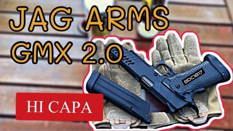 I ARMS GMX 2.0 Pistolet Airsoft à Soufflage à Gaz |  DÉBALLAGE