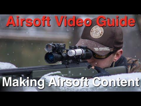 Un guide pour créer des vidéos Airsoft