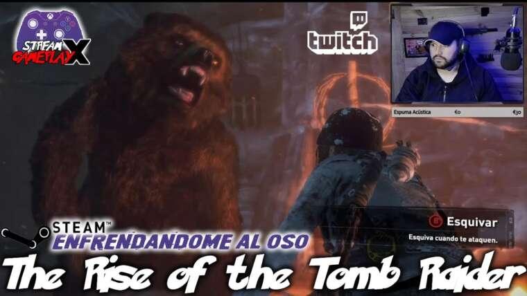 Écoutez TWITCH: Enfrentandome al Oso – The Rise of The Tomb Raider |  Revue Airsoft en Español