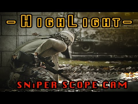 Scope Cam | Gameplay HighLight | Tireur d'élite Airsoft Sniper BB Gun