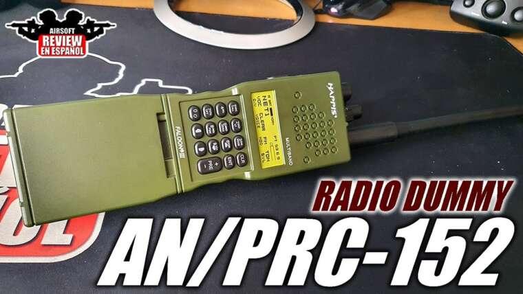 Radio AN / PRC-152 factice ZTactical    Revue Airsoft en Español