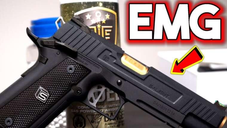 Meilleur pistolet Airsoft de 2021 – EMG Salient Arms (Critique)