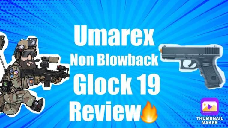 Examen du pistolet Umarex Airsoft Glock 19 sans soufflage