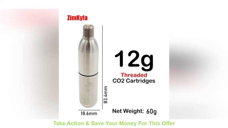 Évaluer Adaptateur de charge de recharge rapide Paintball ou Soda vers Airsoft et cartouche de CO2 rechargeable 12g
