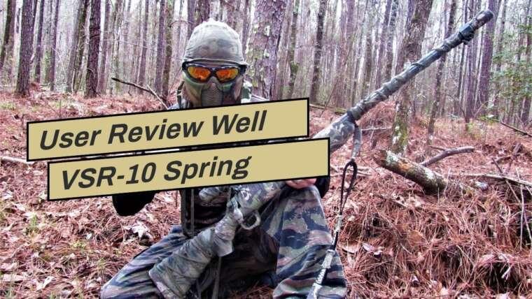 Avis d'utilisateur Well VSR-10 Spring Airsoft Sniper Rifle