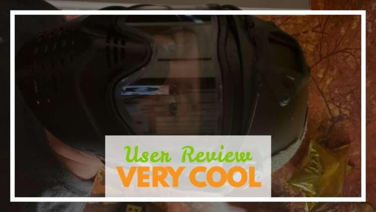 Avis d'utilisateur ATAIRSOFT Casque respirant tactique Airsoft Fast PJ avec lunettes coulissantes OD vert