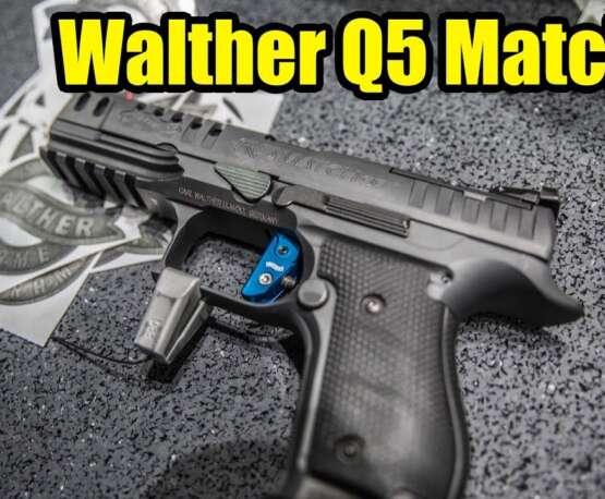 🔫 Walther Q5 Match SF – IWA 2019