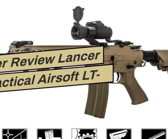 "Avis utilisateur Lancer Tactical Airsoft LT-12TK 10"" Free Floating KeyMod Hguard – TAN"