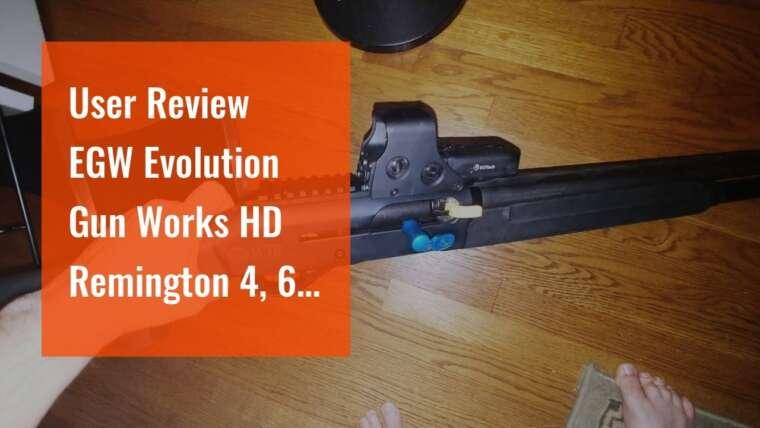 Avis utilisateur EGW Evolution Gun Works HD Remington 4, 6, 7400, 7600, 750, Weaver 93 Auto Scop …
