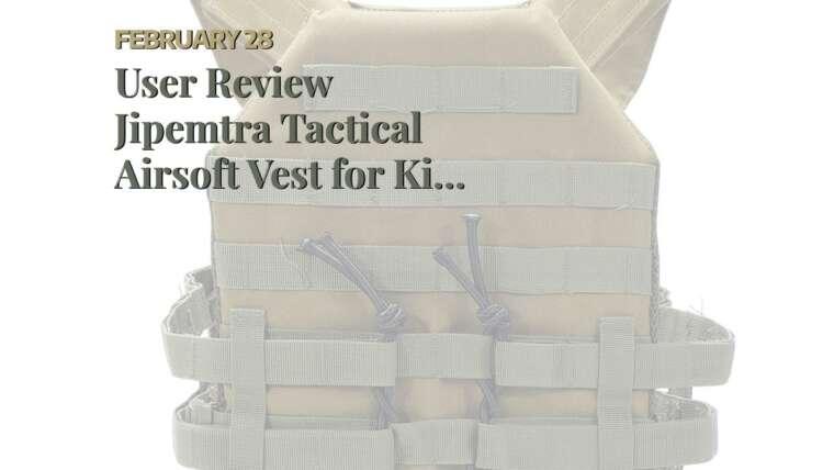 Revue de l'utilisateur Jipemtra Tactical Airsoft Vest pour enfants Outdoor Molle Respirant JPC Vest Game …