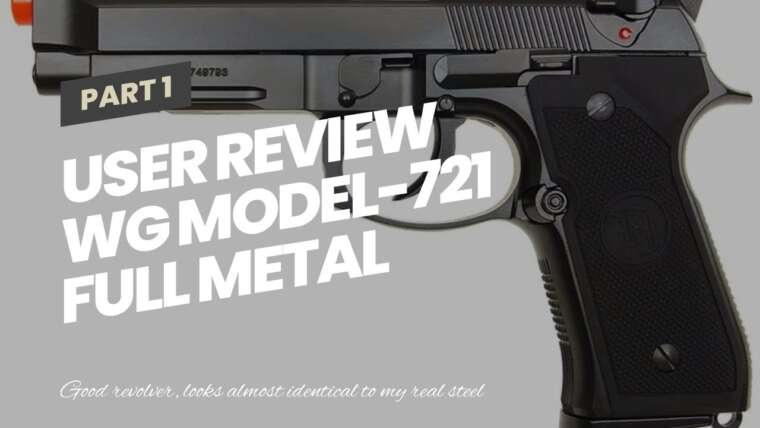 Revue de l'utilisateur WG Model-721 Full Metal Nagant Revolver Co2 NBB (Airsoft Gun)