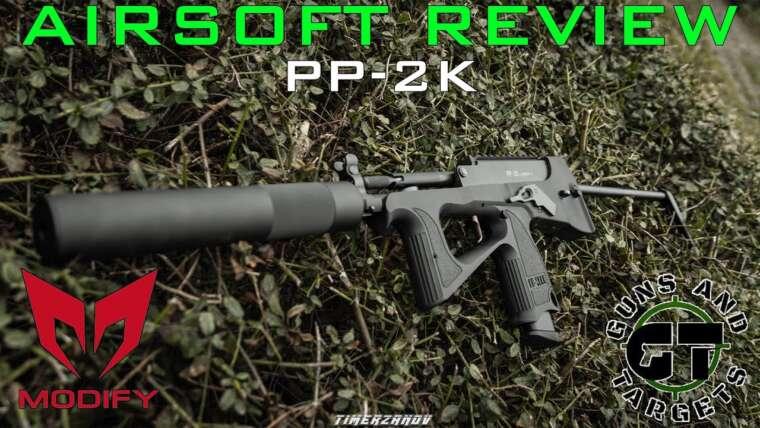 Airsoft Review # 45 PP-2K Modify GBBR (PISTOLETS ET CIBLES)