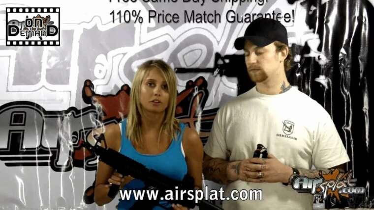 AirSplat OD – ICS M4 RIS Sport Airsoft Electric AEG Gun Review Ep 26