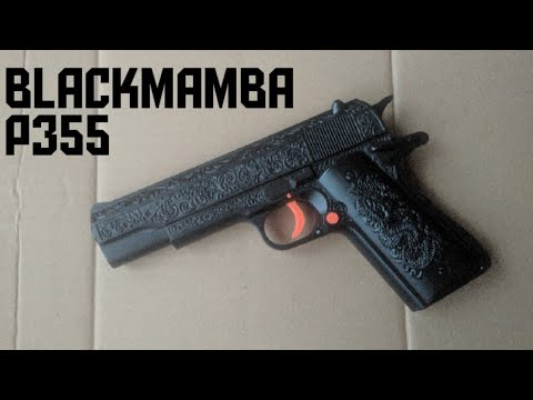 Évaluer Airsoft Spring Blackmamba P355