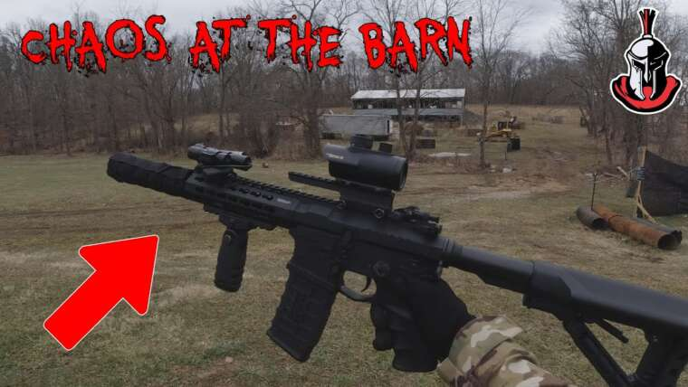 [Airsoft] Chaos At The Barn Gameplay!  Prenez The Barn et Team Deathmatch 27/02/21