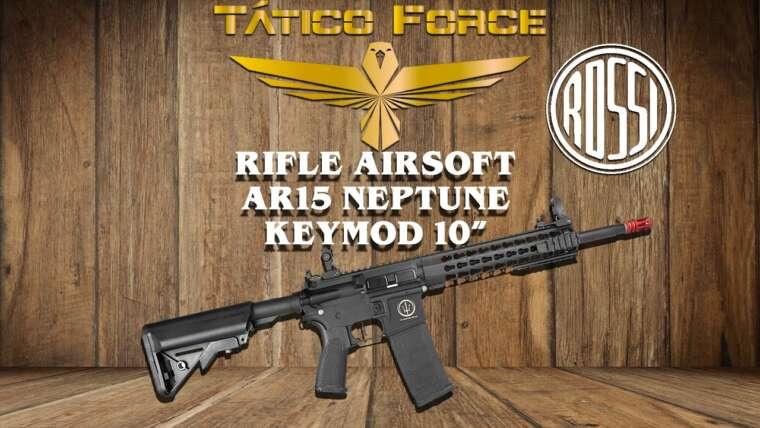 "EXAMEN TACTIQUE CARABINE FORCE AIRSOFT AR15 NEPTUNE KEYMOD 10 """