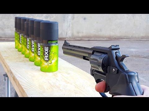 EXPERIMENT GUN vs AX BODY SPRAY