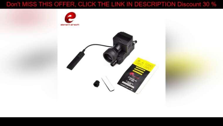 Évaluer LAMPE DE POCHE TACTIQUE ELEMENT EX214 AIRSOFT ELLM-01 IR RED LASER AVANCÉ APPAREIL DE VISÉE ENTIÈREMENT