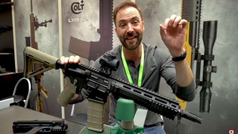 Revue du pistolet à fusil Colt L119A2 AIRSOFT.