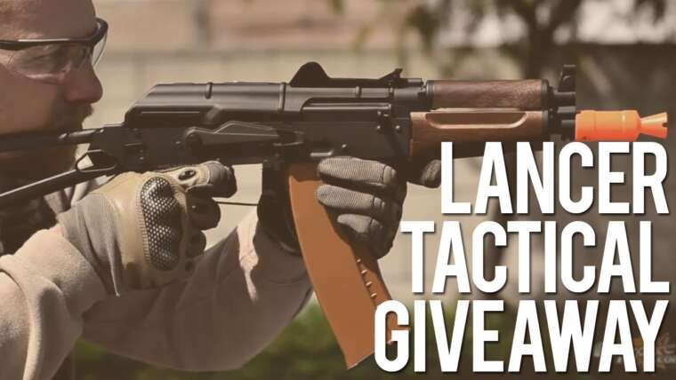 AirSplat et Lancer Tactical Airsoft AK Giveaway and Review