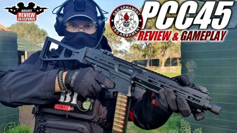 PCC45 DE G&G Armament (Critique & Gameplay) |  Revue Airsoft en Español