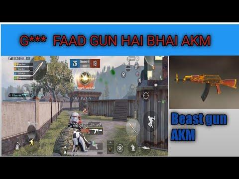 le meilleur pistolet AKM dans Tdm match pubg Mobile